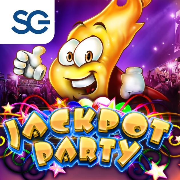 jackpot party casino slots- 777 slot machine games itunes