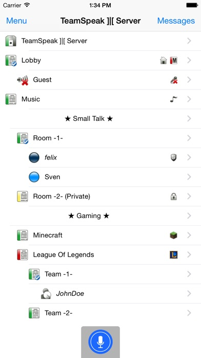 TeamSpeak 3 screenshot1