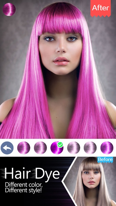 Hair Color Switch-Hairstyle Swap,Face Photo Salon on the App Store