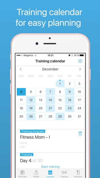 download Demifit: Fitness for women apps 3