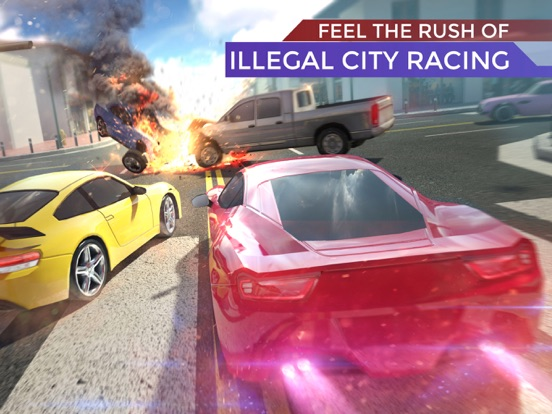 Traffic: Endless Road Racing 3D на iPad