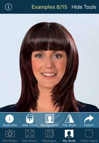 Hairstyle Try On screenshot 3