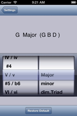 iAutoharp screenshot 2