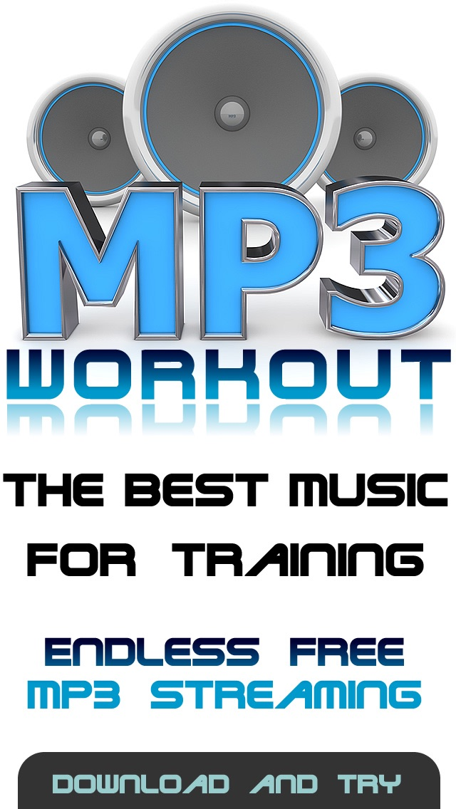 Mp3 Workout music - The perfect aerobic exercise & practice radio stations appScreenshot of 1