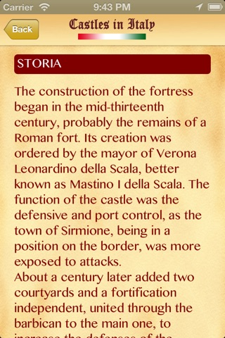 Castelli d'Italia Lite screenshot 4