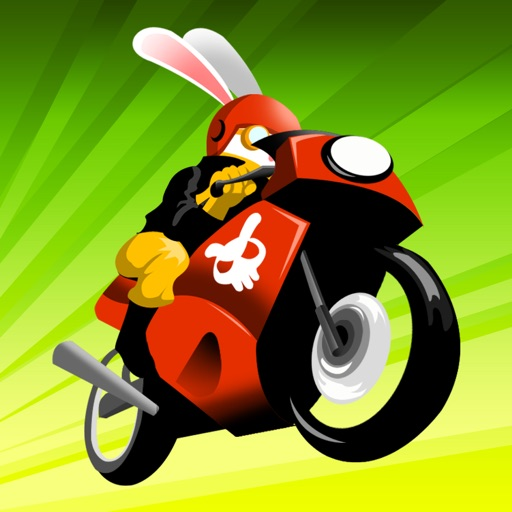 Atomic Bunny Bike Race - Free Multiplayer Racing Game iOS App