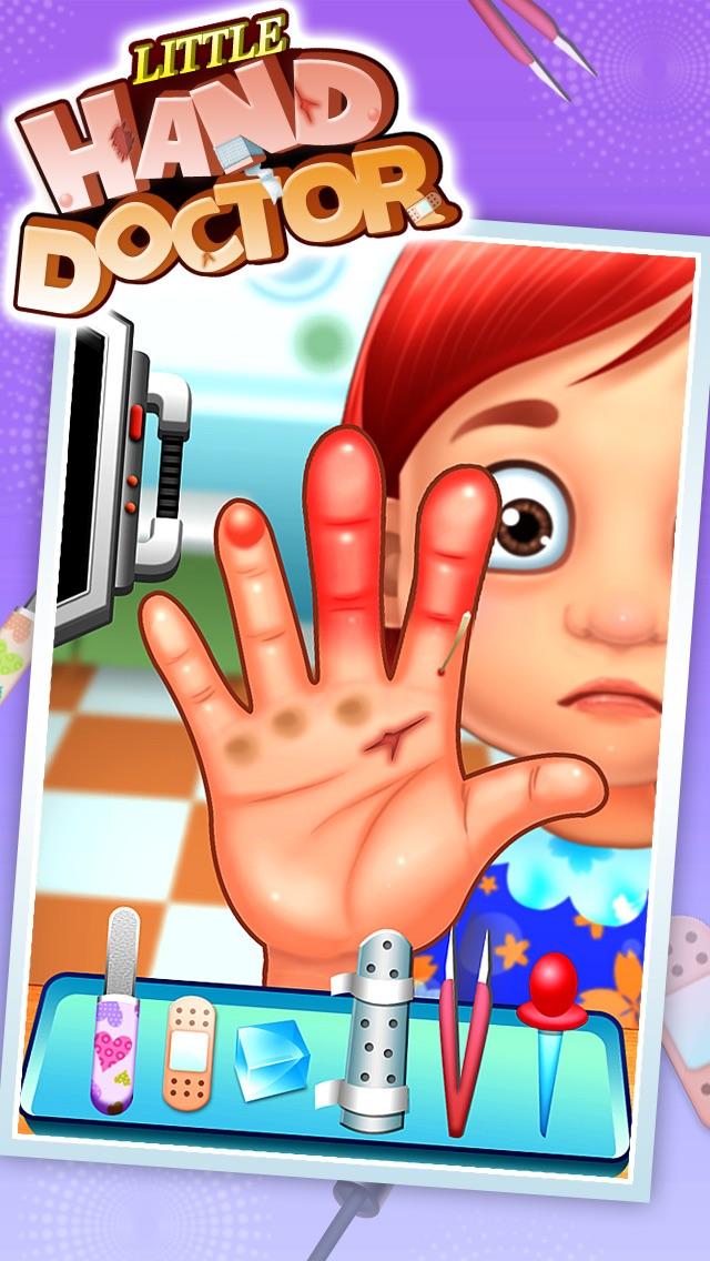 手の医者 - 子供のゲームのおすすめ画像1