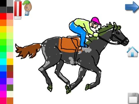 Kleurplaten Van Paarden En Pony Gratis Kleurplaat Voor