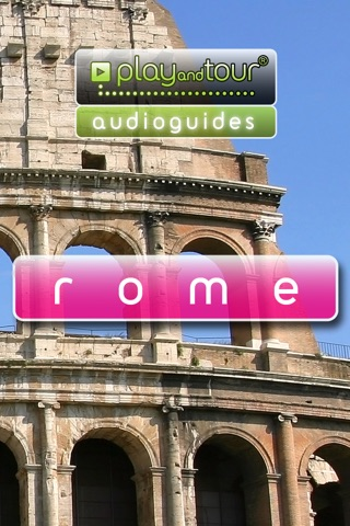 Rome audioguide touristique (audio en français) screenshot 1