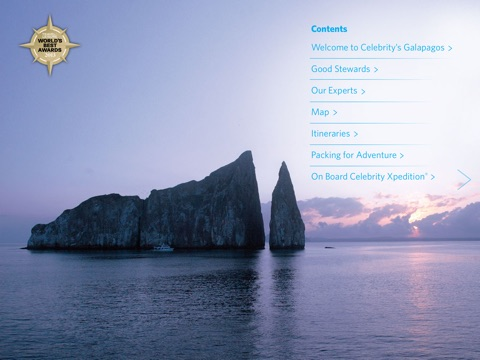 Celebrity's Galapagos screenshot 2