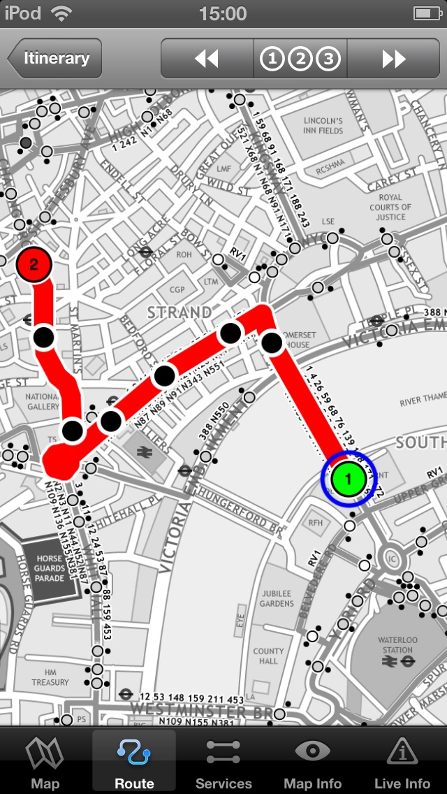download London Bus Free - Map and route planner by Zuti apps 2