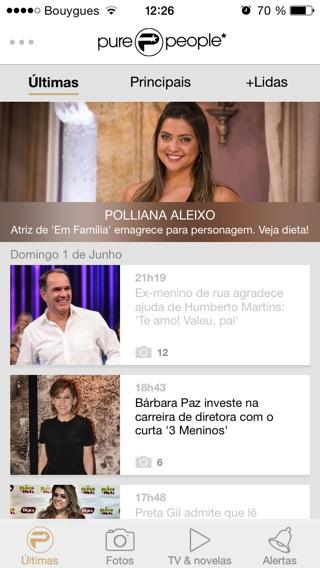 Purepeople brasil ltimas not cias dos famosos on the app for Ultimas noticias artistas famosos