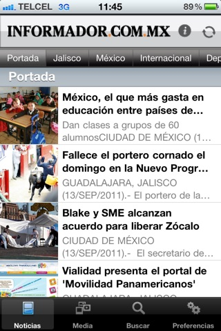 El Informador screenshot 2