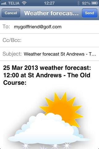 Моя игра в гольф погодаСкриншоты 4