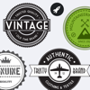 Vintage Stickers HD - Beautiful retro badges, labels and stamps for your pictures