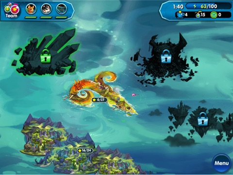 Screenshots of Monster Galaxy: The Zodiac Islands for iPad