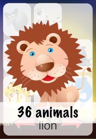 Animal Sounds for Babies Lite screenshot 2