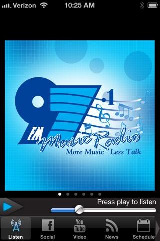 Music Radio 97 screenshot 1