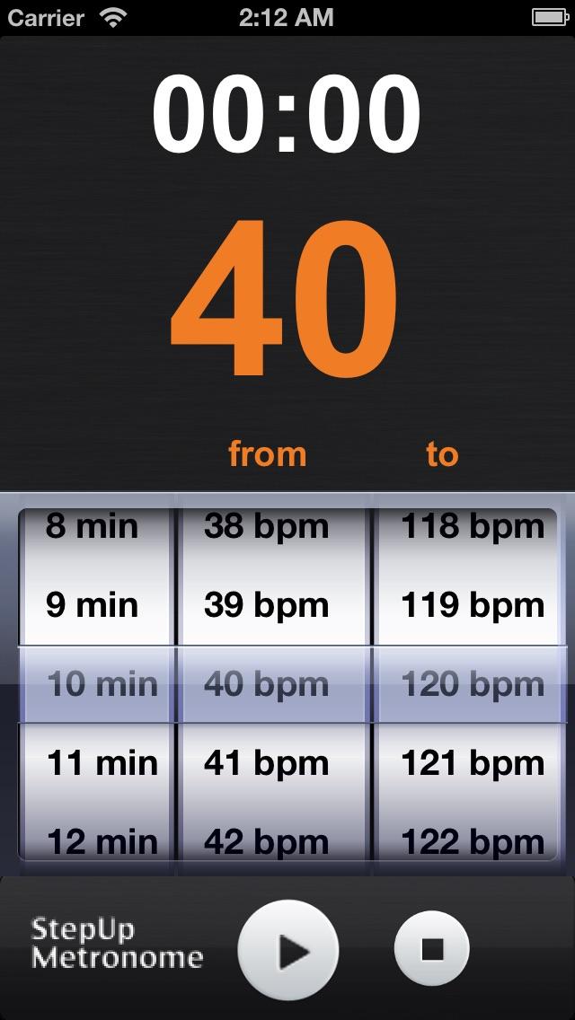 StepUp Metronomeのおすすめ画像1