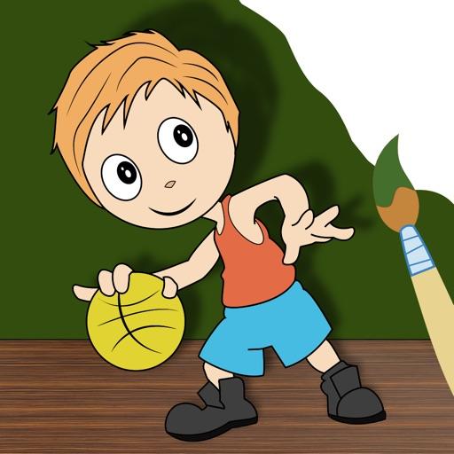 I Paint Drawing - best kids educational art book iOS App