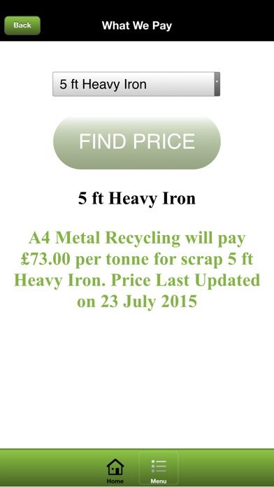 A4 Metal Recycling screenshot four