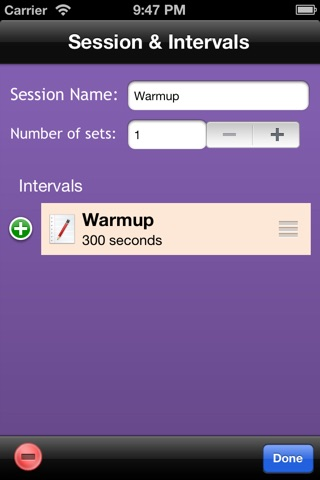 Cycling Workout Timer Free screenshot 4