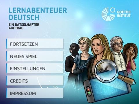 Lernabenteuer Deutsch – Ein rätselhafter Auftrag HD на iPad