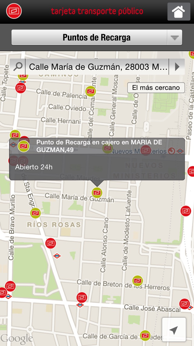 download Tarjeta Transporte Público CRTM apps 1