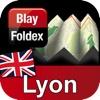 Lyon Map - Blay Foldex