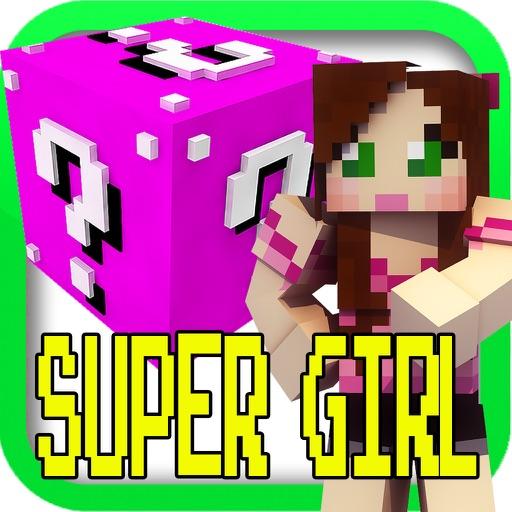 SUPER GIRLY GAMER ( Lucky Block Edition ) - Mini Multiplayer Game