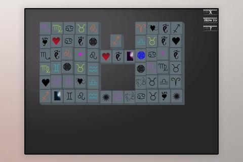 Amazing STAR SIGN Mahjong Mania Board Game screenshot 2