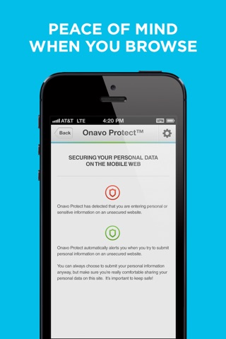 Onavo Protect - VPN Security screenshot 2