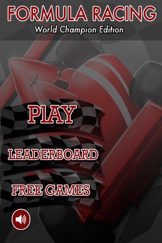 フォーミュラレーシング - 第1回ワールドチャンピオンエディションのスクリーンショット3