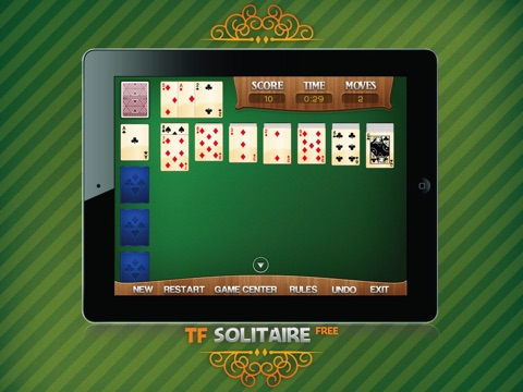 TF Solitaire Cards Game HD free screenshot 4