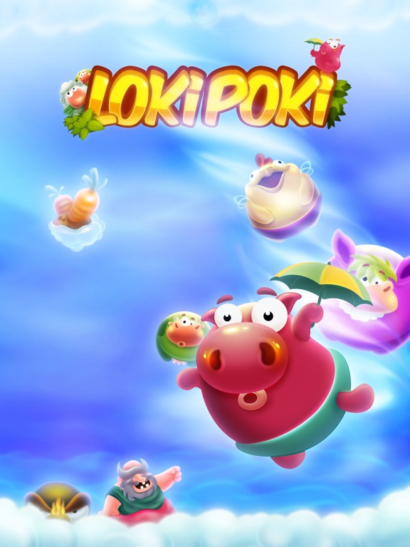 Lokipoki HD - A Cute Physics Puzzle Adventure Screenshots