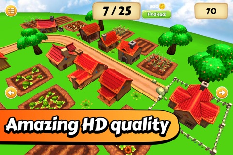 Easter Egg Hunt - The Bunny's Village screenshot 3