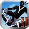 Ninja Parkour Dash 2: Escaping Vector Samurai Shurikens Fight