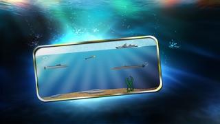 素晴らしい潜水艦戦闘艦 -無料で楽しい魚雷戦争ゲームです-のスクリーンショット4