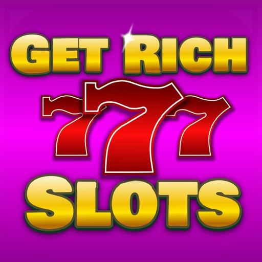Get Rich Slots Born To Be a 777 Vegas Casino Jackpot Millionaire! iOS App