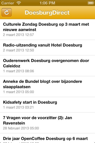 DoesburgDirect screenshot 1