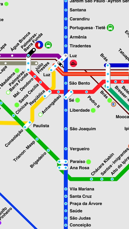 Sao Paulo travel guide and offline map metro So Paulo subway