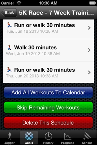 JogBuddy™ Lite For Men screenshot 3