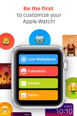 iFaces - Custom Themes and Faces for Apple Watch screenshot 1