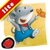 """Miko - Where is Mimiki: An interactive bedtime story book for kids about an anxious mouse looking for his lost friend and his joy on re-uniting with him,  by Brigitte Weninger illustrated by Stephanie Roehe  (iPad """"Lite"""" version; by Auryn Apps)"""
