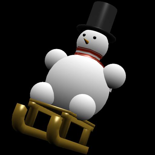 Snowman Race