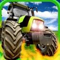 A Farm War Combat Run: Free Speed Tractor Shooting Game