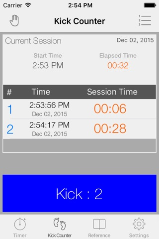 Full Term - Contraction Timer & Pregnancy Toolkit screenshot 2