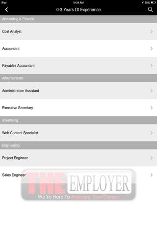 The Employer Magazine screenshot 4