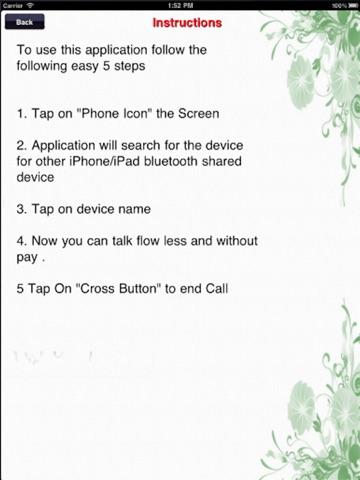 Bluetooth Call Lite Скриншоты7