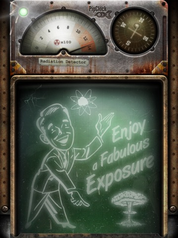 PipClock Nuclear Fallout Survival Screenshot
